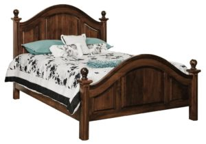 SCHWARTZ - Adrianna Bed - Dimensions: HB posts 57 inch, FB posts 34 inch Overall Size: King 82 inch x 88 inch Queen 66 inch x 88 inch Full 60 inch x 84 inch.