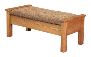 INDIAN TRAIL - Bed Seat - Dimensions: 18.5 inch x 22.5 inch x 46.5 inch