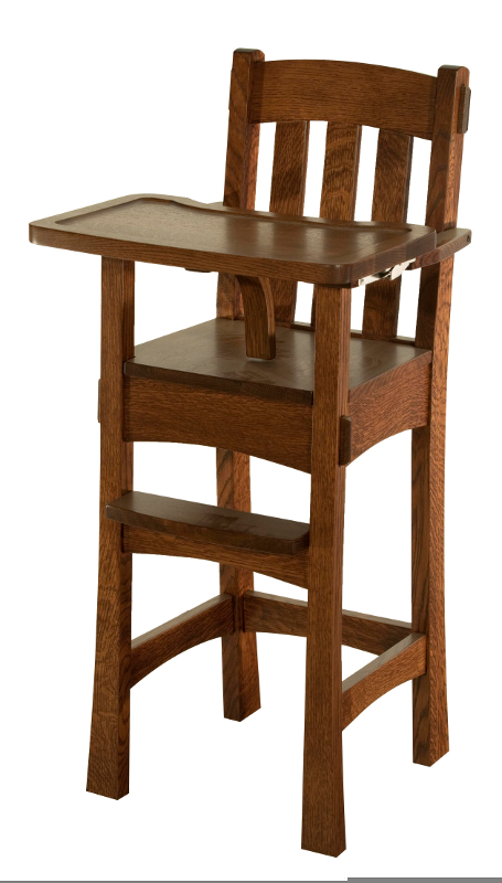 SUPERIOR WOODCRAFTS Modesto Highchair Three Sisters Furnishings – High Chair Dimensions