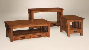 AJ's - Adam's Series - End Table: 22w x 24d x 21h,: 48w x 24d x 17.5h, Sofa Table: 48w x 16d x 27.5h.