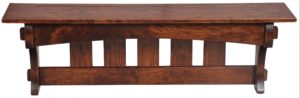 SUPERIOR WOODCRAFTS - Aspen Mission Shelf - Dimensions (in inches): 36 x 8 x 12.