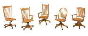 F & N - Desk Chairs Various Styles - Dimensions (in inches): Please call store for details.