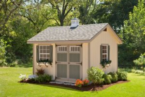 Alpine Structures - Classic Heritage Garden House - Inside: 10x12, customizable options, please call store for details.