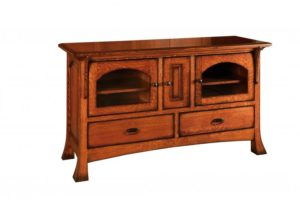 SCHWARTZ - Breckenridge SC-60 - Dimensions: 60.5w x 19.25d x 34.5h, One shelf behind center door.