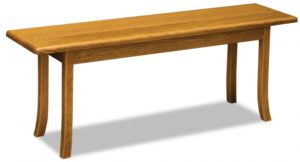 A & J - Carlisle Trestle Bench - Dimensions (in inches):48w x 12.5 x 18h, call store for additional sizes.
