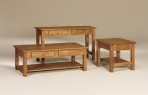 AJ's - Mission Occasional Tables: Call store for piece details.