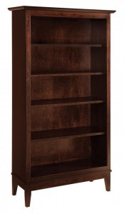 SCHWARTZ - Venice Bookcase SC-3665 - Dimensions (in inches): 36w x 14.25d x 65h.
