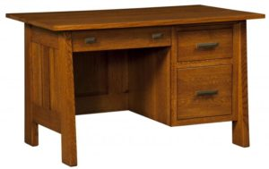 L & N - Freemont Mission Student Desk - Dimensions (in inches): 52x30x31, 20 inch Drawers.