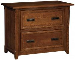 L & N - Ashton Lateral File Cabinet: 39x20x31, 14½ inch Drawers.