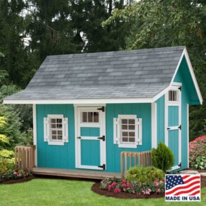 Alpine Structures - Classic A-Frame Playhouse - Inside: 6x10, customizable options, please call store for details.