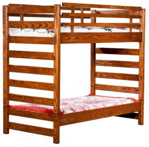 "INDIAN TRAIL - Ladder Loft - Dimensions: Loft Bunk 72""h, Bottom 15½""h"
