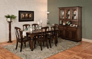 WEST POINT - Berkshire Table and Brookfield Collection - Table Dimensions (in inches): 42x60, 42x66, 42x72, 48x60, 48x66, or 48x72 with up to 4 leaves - All pieces sold separately - Custom finish options available, please call store for details.