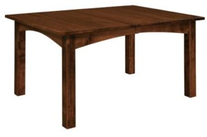 WEST POINT - Heidi Leg Table - Dimensions (in inches): 42 x 60, 42 x 66, 42 x 72, 48 x 60, 48 x 66, and 48 x 72 with up to 4 leaves - Custom finish options available, please see store for details.