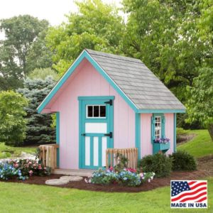 Alpine Structures - Playhouse - Size = 3 foot x 4 foot. Customizable options. Please call store for details.