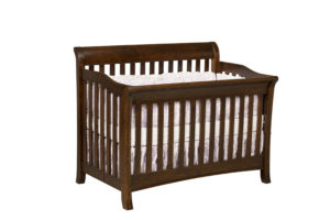 "OLD TOWN OAK - Berkley Crib - Dimensions: 55½""w x 44.5""h x 35""d"