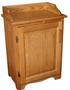 SUPERIOR WOODCRAFTS - Dry Sink (D227019): Dimensions (in inches): 21.5d x 13w x 30.5h - Custom finish options available, please see store for details.