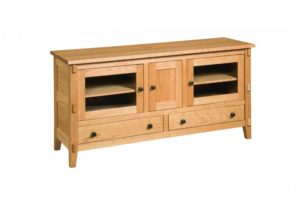 SCHWARTZ - Bungalow SC-60 - Dimensions: 60w x 18d x 30h, One shelf behind center door.