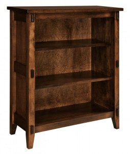 SCHWARTZ - Bungalow Bookcase SC-3640 - Dimensions (in inches): 36w x 14.5d x 40h.