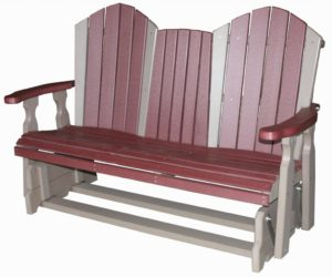 CREEKSIDE - 5' Classic Glider Bench Seat - (C125) Size: 5 feet.