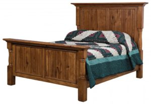 SCHWARTZ - Palisade Bed - Dimensions: Headboard 63.75 inch Footboard 34 inch height Overall Size: King 89.5 inch x 91.75 inch Queen 73.5 inch x 91.75 inch Full 67.5 inch x 87.75 inch.