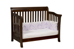"OLD TOWN OAK - Berkley Toddler Bed - Dimensions: 55½""w x 44.5""h x 35""d"