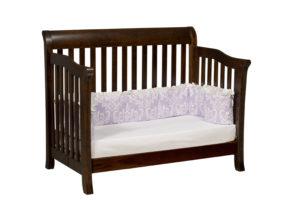 "OLD TOWN OAK -Berkley Toddler Bed - Dimensions: 55½""w x 44.5""h x 35""d"