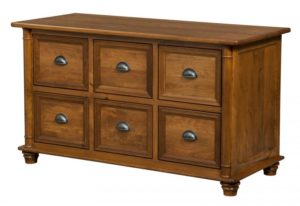 L & N - Belmont 6 Drawer Credenza: 55x24x31, 20 inch Drawers.