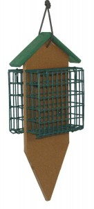 SUPERIOR WOODCRAFTS - Double Suet Poly Bird Feeder