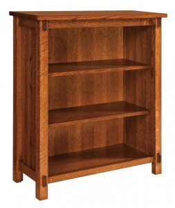 SCHWARTZ - Rio Mission Bookcase SC-3640 - Dimensions (in inches): 36w x 14.5d x 40h.