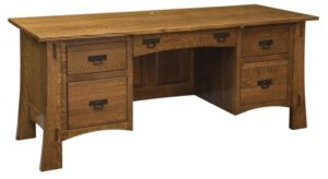 L & N - Modesto File Desk - Dimensions (in inches): 74x23x31, 16 inch Drawer, 74x30x31, 22 inch Drawer, 74x36x31, 26 inch Drawer.