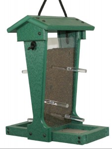 SUPERIOR WOODCRAFTS - Finch Hanging Poly Bird Feeder