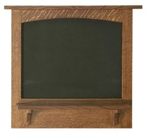 SUPERIOR WOODCRAFTS - Chalkboard w/ Shelf - Dimensions (in inches): 27 x 4.74 x 24.75.