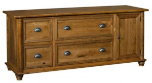 L & N - Belmont Credenza: 72x24x31, 20 inch Drawers.