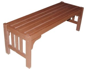 CREEKSIDE - Mission Parkside Bench - (M211) Size: 52 inches.