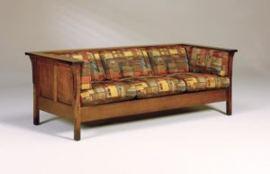 AJ's - Cubic Panel Sofa: 84w x 34.5d x 29h (solid bottom standard, springs optional).