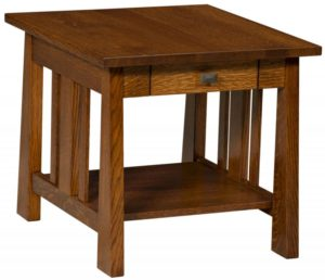 L & N - Open Freemont Mission End Table: Call Store for piece details.