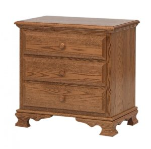 SCHWARTZ - Heritage Nightstand - Dimensions: 3 drawers,26.5w x 17d x 26h