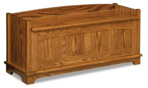 A & J - Royal Heritage Bench - Dimensions (in inches):47.5w x 16d x 21.75 h.