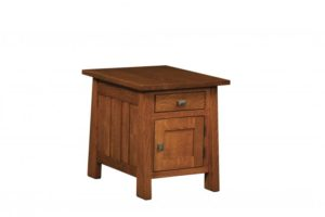 L & N - Freemont Mission Closed End Table: Call Store for piece details