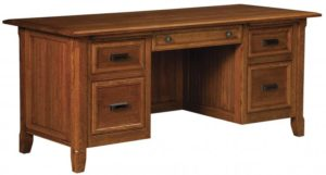 L & N - Ashton Desk - Dimensions (in inches): 72x36x31, 26 inch Drawers, 72x30x31, 22 inch Drawers, 72x24x31, 16 inch Drawers.