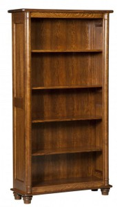 L & N - Belmont Bookcase: different heights - 39x13½x30, 39x13½x36, 39x13½x42,39x13½x54, 39x13½x60, 39x13½x72, 39x13½x80.