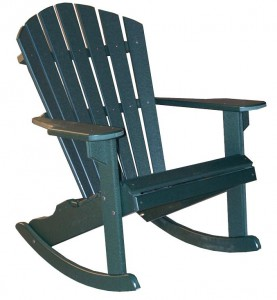 CREEKSIDE - Classic Beach Rocker - (C107) Size: 22 inches.