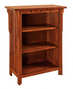 SCHWARTZ - Royal Mission Bookcase SC-3240 - Dimensions (in inches): 32w x 14.5d x 40h.