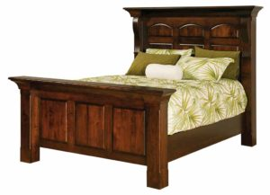 SCHWARTZ - Hamilton Court Bed - Dimensions: HB posts 69 inch, FB posts 36 inch, Overall size: King 92 1/2 inch x 95 1/2 inch, Queen 76 1/2 inch x 95 1/2 inch, Full 70 1/2 inch x 92 inch