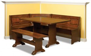 A & J - Traditional Nook Set: Custom sizes available, please call store for details.