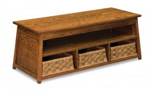A & J - Heritage Bench - Dimensions (in inches):47w x 19d x 18h.