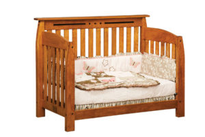 "OLD TOWN OAK - Linbergh Toddler Bed - Dimensions: 58""w x 44""h x 31""d"