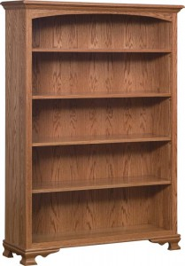 SCHWARTZ - SC-48 Heritage Bookcase - Dimensions (in inches): 48w x 14.5d x 67h.