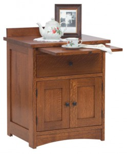 SCHWARTZ - Jacobson Nightstand - Dimensions: 2 door w/pull-out tray, 24.5w x 19.25d x 32.5h