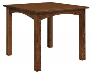 WEST POINT - Madison Pub Table - Dimensions (in inches): 36x36, 42x42, 48x48, 54x54, and 60x60 with up to 4 leaves - Custom finish options available, please see store for details.